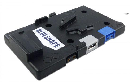 Le piastre Blueshape per condividere la batteria tra più dispositivi