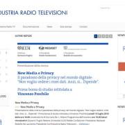Assemblea Generale di Confindustria Radio Televisioni a Roma il 9 luglio 2015