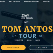 "Blueshape sponsorizza gli incontri ""Meet Tom Antos"""