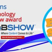 """L'innovazione continua convince: Onetastic vince il """"Best of Show Award"""" al NAB 2016"""