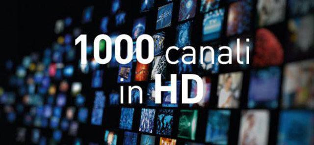 Eutelsat: raggiunta la quota di 1000 canali HD trasmessi sulla propria flotta