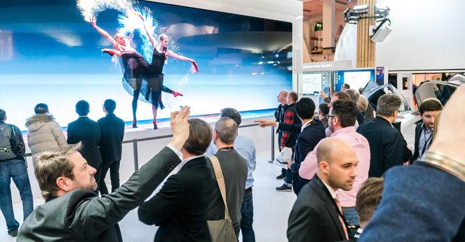 All' ISE 2017 di Amsterdam Sony presenta le ultime soluzioni professionali AV e IT