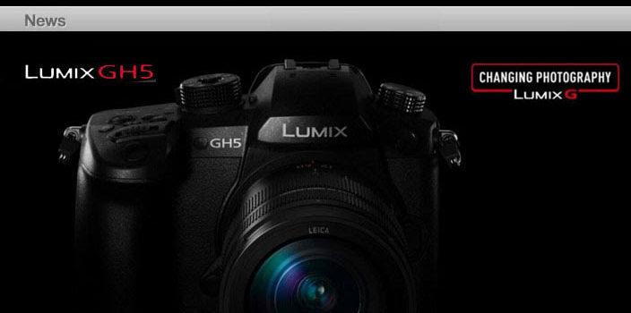 Presentazione nuova fotocamera Panasonic Lumix GH5 a Bologna il 14 marzo