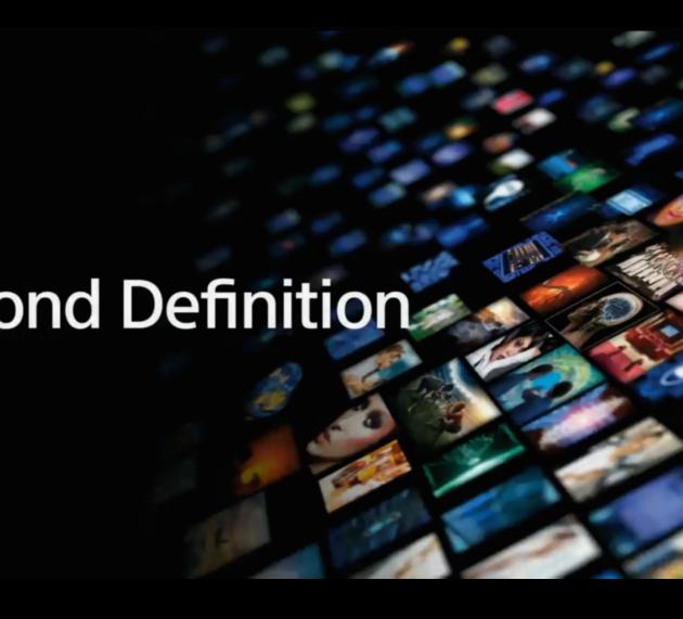 Sony va oltre la definizione