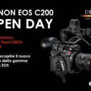 Tre appuntamenti per scoprire la nuova Canon EOS C200