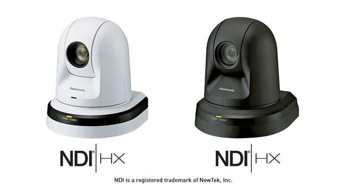 Panasonic: il supporto NDI integrato nelle telecamere professionali PTZ