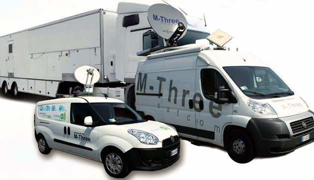 M-Three Satcom di Giglio Group: servizi di Outside Broadcast per ogni evento
