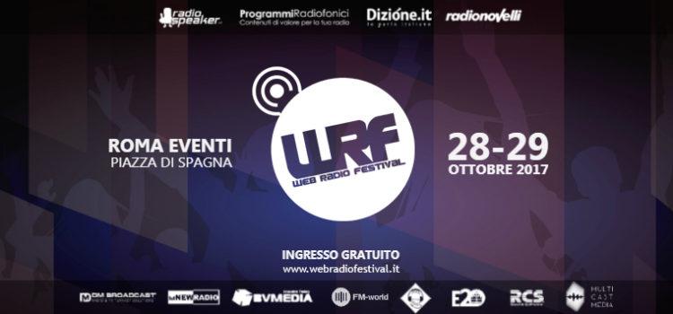 Il Web Radio Festival per la quarta edizione si fa in due