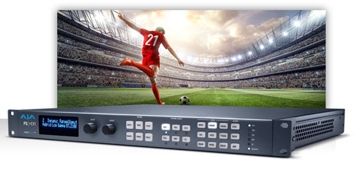 AJA: conversioni Real Time HDR/WCG con Colorfront Engine Video Processing