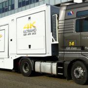 Il FlexIP van, OB-van14 di DBW e Betamedia