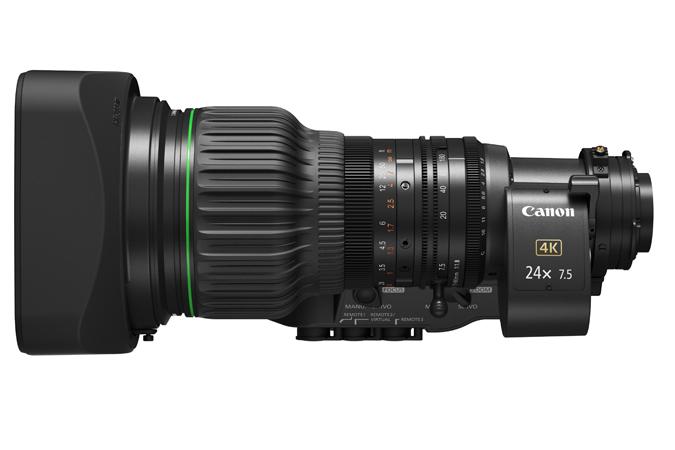 Solo ottiche 4k da Canon