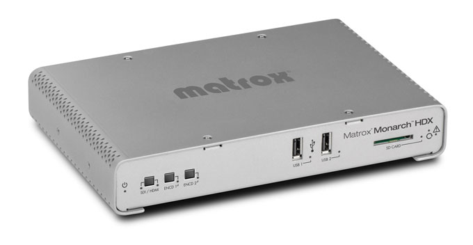 Lo streaming broadcast di Matrox