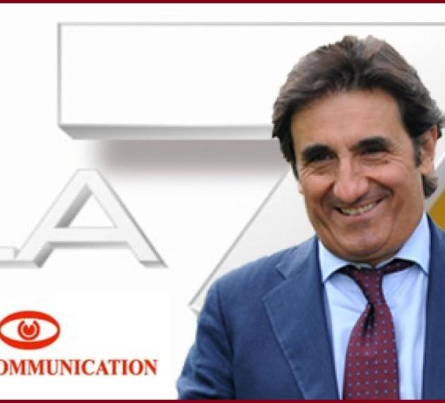 Utili in calo per Cairo Communication nel primo semestre. Pesa la ristrutturazione di La7