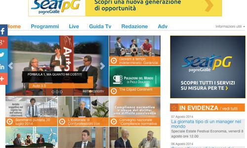 Reteconomy, la web tv dell'economia in diretta streaming
