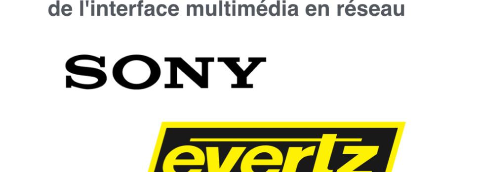 Sony collabora con Evertz all'interoperabilità IP