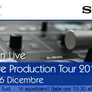Sony Live Production Roadshow – Believe in Live, tappa a Caserta il 16 dicembre