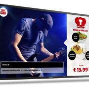 La serie Toshiba Pro-Signage II, attiva 24 ore al giorno