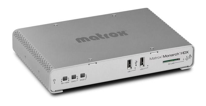 Lo streaming broadcast di Matrox