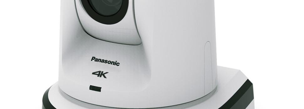 Panasonic presenta la prima telecamera PTZ 4K del settore