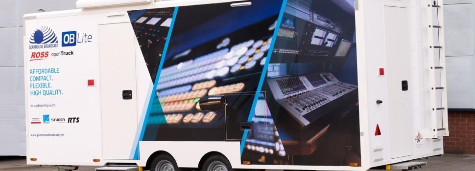 Occasione, un piccolo rimorchio OB Van per riprese HD