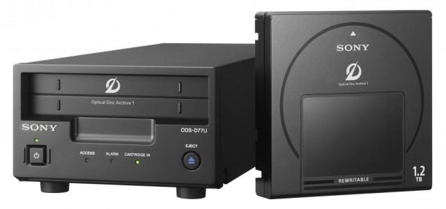 Sony per l'archiviazione
