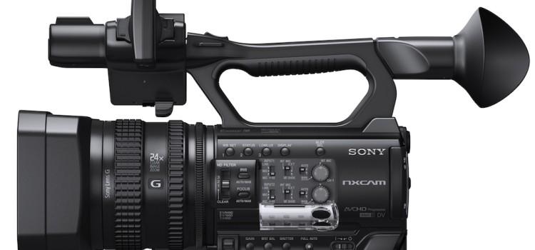 La nuova Sony HXR-NX100 è disponibile da Project Italia