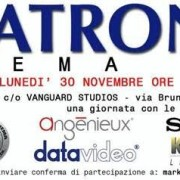 Panatronics Cinema Day il 30 novembre (e RED Italian Tour)