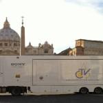 Papa Francesco ha ricevuto in udienza privata i leader di Eutelsat, Globecast e Sony