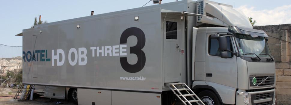Croatel si affida a Sony per prepararsi alle produzioni 4K di eventi sportivi live