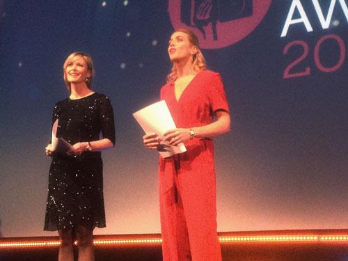 Julie Etchingham di ITV News e Clarissa Ward della CNN