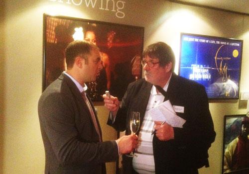 Marco Salustro intervistato da George Jarrett (TVB Europe)