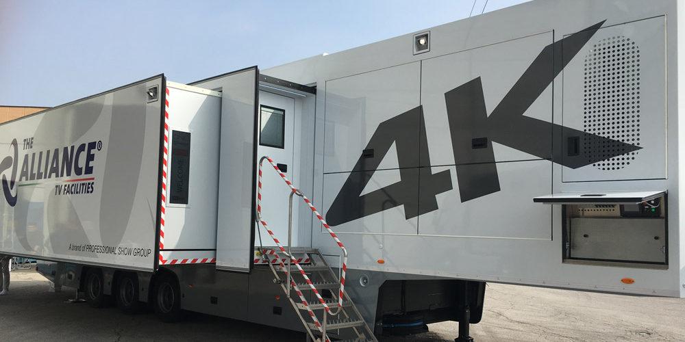 The Alliance presenta un mezzo mobile 4K HDR
