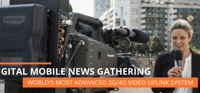 Digital mobile news gathering con Aviwest