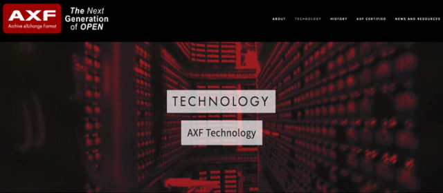 La ISO / IEC Ratifica lo standard SMPTE® Archive eXchange Format (AXF)