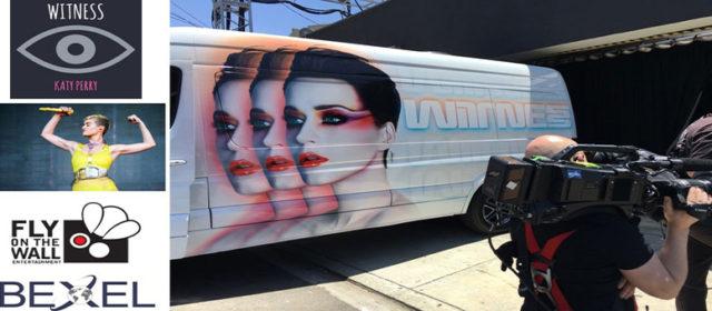 "Bexel fornisce un'infrastruttura broadcast completa per ""Witness World Wide"" di Katy Perry"