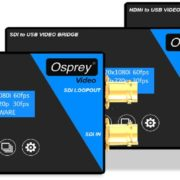 Osprey Video dispositivi USB Video Bridge: l'acquisizione video qualità broadcast USB 3.0