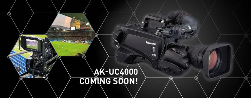 Panasonic lancia telecamera AK-UC4000 da studio