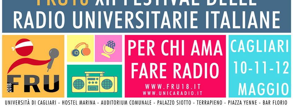 FRU18 – Festival delle radio universitarie italiane a Cagliari