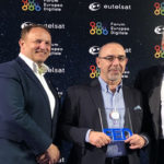Forum Europeo Digitale Awards 2018: Sat.tv di Eutelsat vince nella categoria Hybrid come applicazione 'most-friendly'