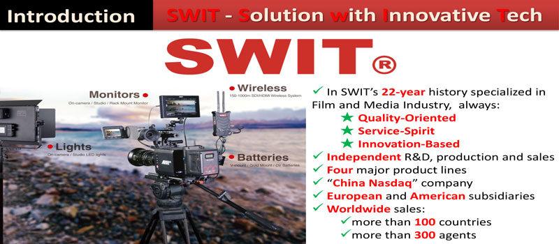 Le novità 2018 di SWIT distribuite da Adcom