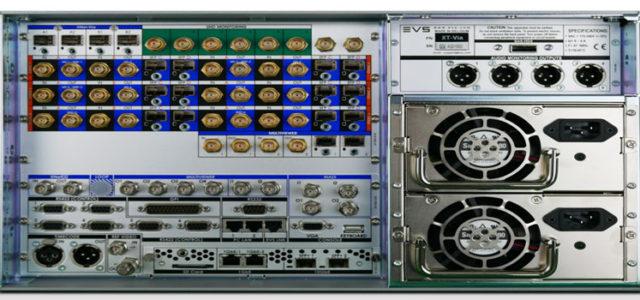 EVS server per produzione live XT-VIA