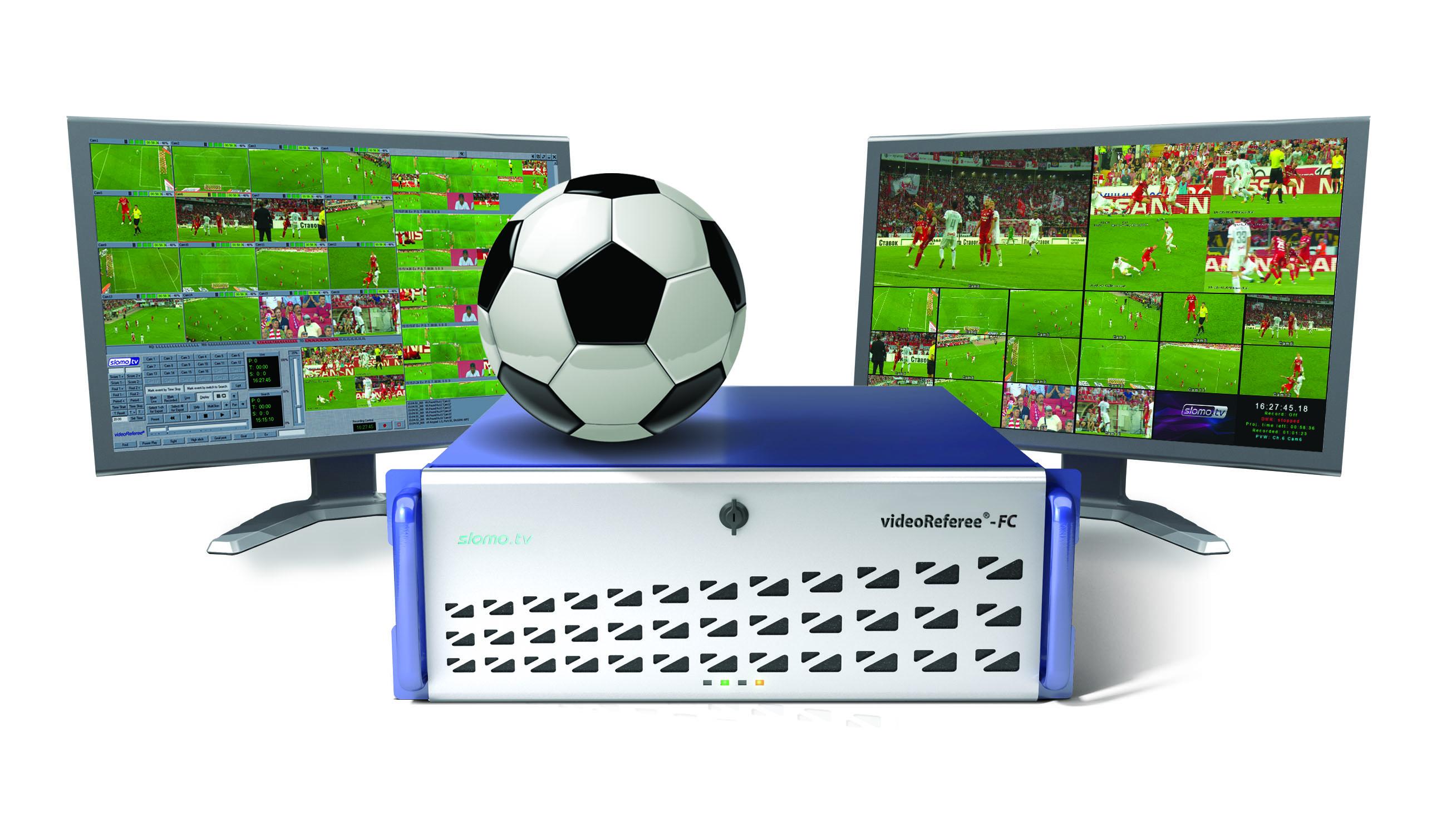 Slomo.tv lancia Enhanced VideoReferee FC System all'IBC 2018
