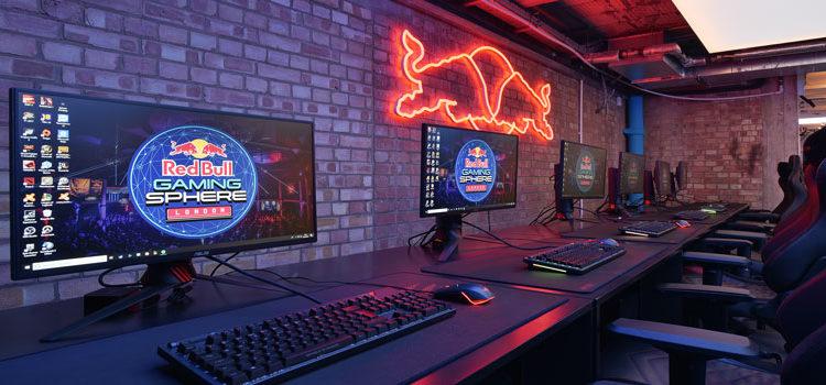 Atem 4 M/E Broadcast Studio 4k e Declink 8k al centro della Red Bull Gaming Sphere