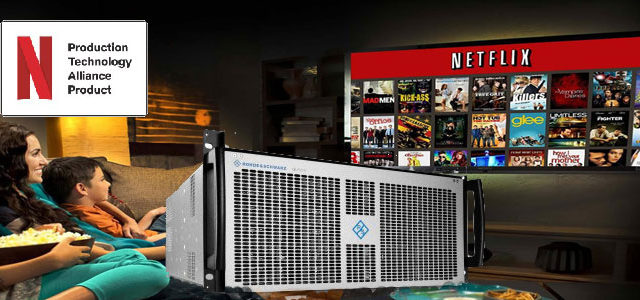 Rohde & Schwarz partecipa al programma Netflix Post Technology Alliance