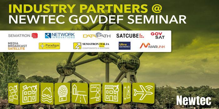 Sematron Italia a Bruxelles per il seminario Satcom GovDef di Newtec