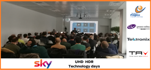I Technology Days su UHD-HDR