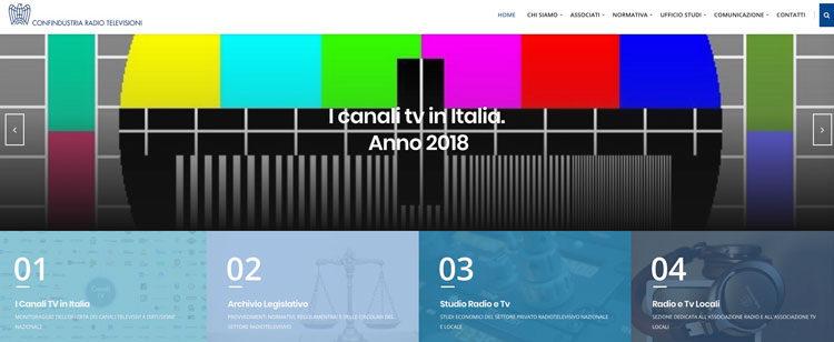 Report Confindustria, 421 i canali TV visibili in Italia