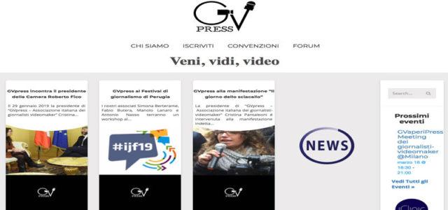 Con GVpress cresce la figura del videogiornalista