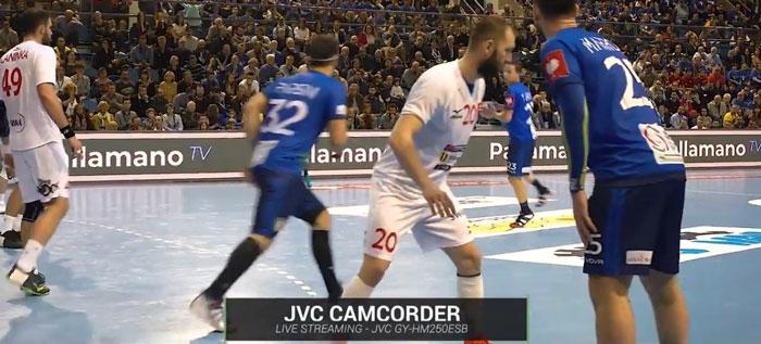 JVC al Campionato Italiano di Handball