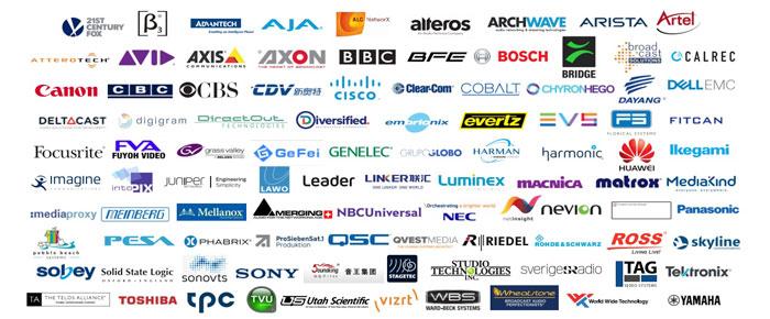 L'AIMS dimostra l'interoperabilità AV-Over-IP